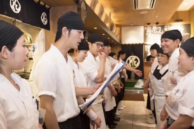 回転寿司根室花まる 大同生命ビルmiredo店の画像・写真